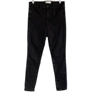 GAP TRUE SKINNY JEANS IN BLACK SZ 31